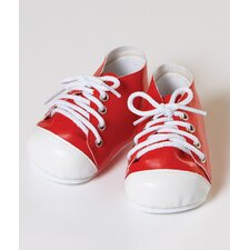 "20"" Doll Tennis Shoes in Red / White"