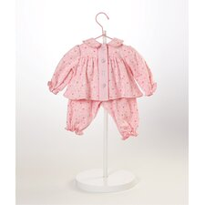 "20"" Baby Doll Pink Pajamas Costume"