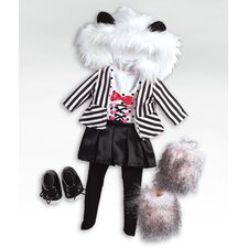 "<strong>Adora Dolls</strong> 18"" Doll - Panda Outfit / Shoes"