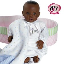 <strong>Adora Dolls</strong> Nursery Time Baby Doll - Dark Skintone / Brown Eyes