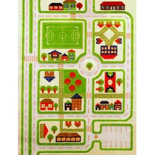 IVI Carpets-Traffic 3D Play Kids Rug