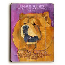 Chow Chow Wood Sign