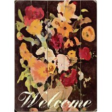 Welcome Graphic Art Plaque