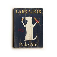 "<strong>Artehouse LLC</strong> Labrador Planked Wood Sign - 20"" x 14"""