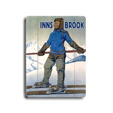 Inns Brook Vintage Advertisement Plaque
