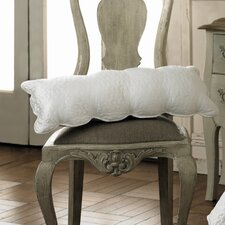 Floriane Breakfast Cushion in Alabaster