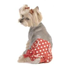 Polka Dot Fancy Pants Dog Diapers