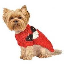 Modern Argyle Dog Sweater