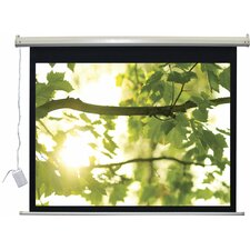 "Lectro IR QM ""A Series"" Motorized Screen AV (1:1) Format - 110V 96"" x 96"""