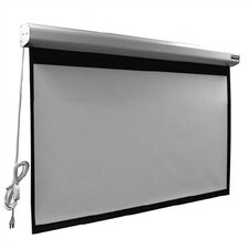 "Elegante Matte White 110"" Electric Projection Screen"