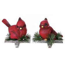 Cardinal Stocking Holder (Set of 2)