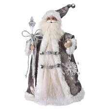 Santa and Icicle Figurine