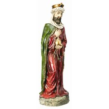 King with Jar Statue Christmas Decoration