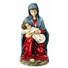 Mary and Baby Jesus Statue Christmas Decoration