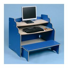 Computer Desk with Bench