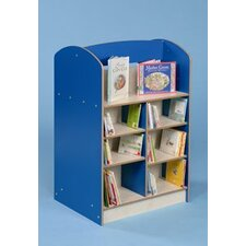 Double Sided Bookcase without Lectern