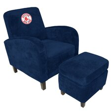 <strong>Imperial</strong> MLB Den Chair and Ottoman