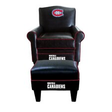 NHL Game Time Chair and Ottoman