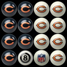 NFL Billiard Ball Set