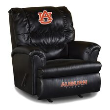 NCAA Leather Big Daddy Recliner