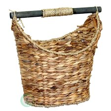 Cottage Magazine and Paper Holder Basket
