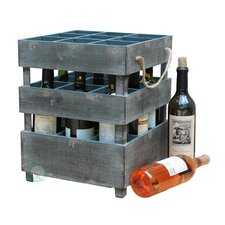 9 Bottle Wine Crate