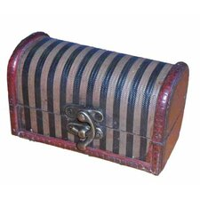 Decorative Wood Mini Trunk