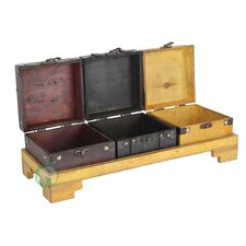 Treasure Chests with Tray Set