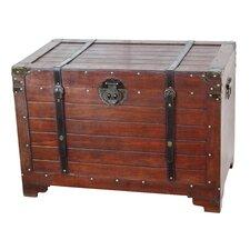 Old Fashioned Wood Storage Trunk
