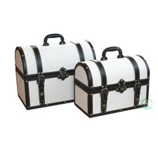 Fabric Storage Trunk (2 Piece Set)