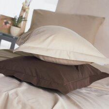 Plain Dyed 150 Thread Count Continental Pillowcase in Ivory