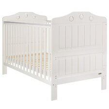 Lisa Convertible Cot Bed in White