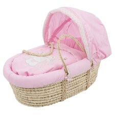 <strong>Obaby</strong> B is for Bear Moses Basket in Pink