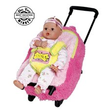 Adora Playtime Baby Dolls Rolling on Wheels Backpack