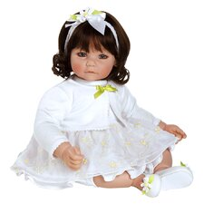 "Adora ""White Daisies"" Doll with Dark Brown Hair / Brown Eyes"