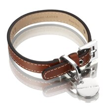 Royal Handmade British Saddle Leather Dog Collar