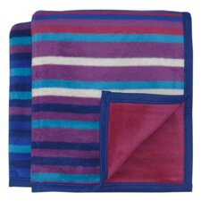 Inspirations Masala Woven Velvet Throw Blanket