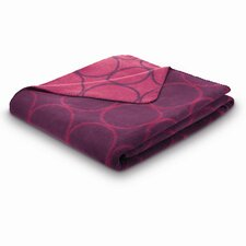 World Affairs Sunday Circle Cotton Blend Fibers Blanket