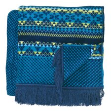 Inspirations Tandori Woven Cotton Throw Blanket