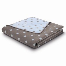 World Affairs Softly Dots Baby Cotton Blend Throw Blanket
