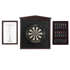 Championship Dart Board Backboard Set