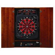 Metropolitan Cinnamon Soft-Tip Dartboard Cabinet
