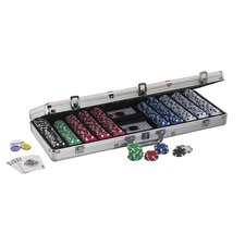 Hold'em Dealer Poker Chip Set