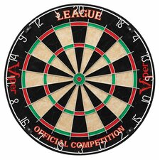 League Steel Tip Dartboard