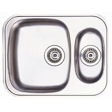 Opal 1.5 Bowl Undermount Sink in Stainless Steel
