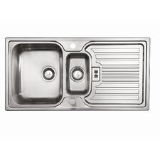 Montreux 1.5 Bowl Inset Sink and Drainer
