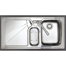 Lausanne 1.5 Bowl Inset Sink and Drainer