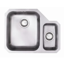 Edge Single Bowl Undermount Sink in Stainless Steel