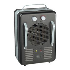 5118 BTU Greenhouse Utility Space Heater with Metal Outer Case