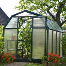 "EcoGrow 2 Twin Wall 6' 4"" H x 6' 5"" W x 8' 9"" D Polycarbonate 4 mm Greenhouse"